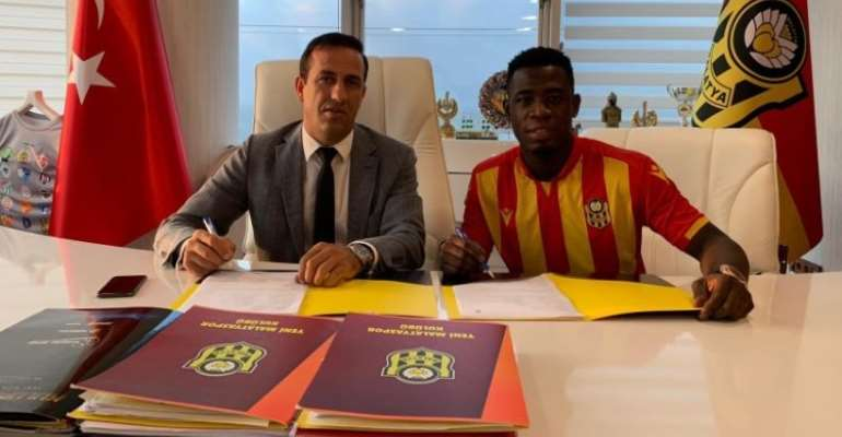 Afriyie Acquah Joins Turkish Side Yeni Malatyapsor On Two-Year Deal