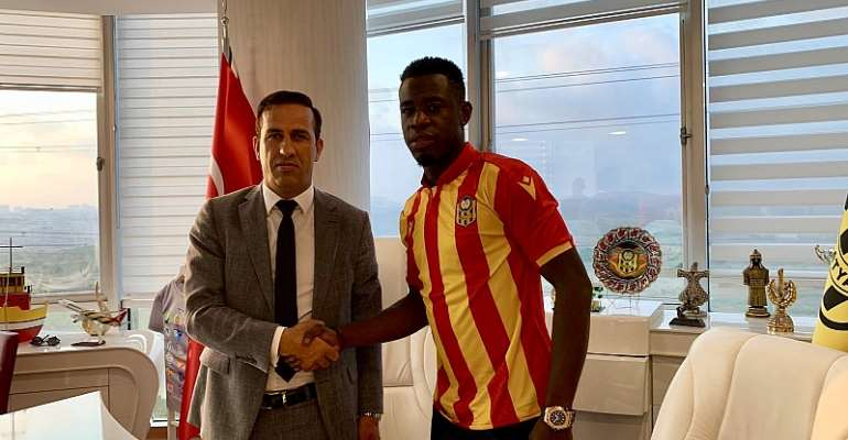 Turkish Side Yeni Malatyapsor Sign Afriyie Acquah Until 2021 [PHOTOS]