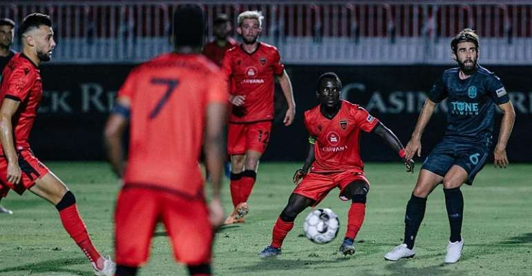 In-Form Solomon Asante On Target For Phoenix Rising FC In Draw At Las Vegas Lights