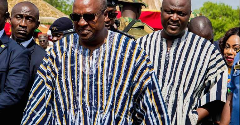 Sincerity And Being Too Careful- The Ibrahim Mahama - John Mahama Politics