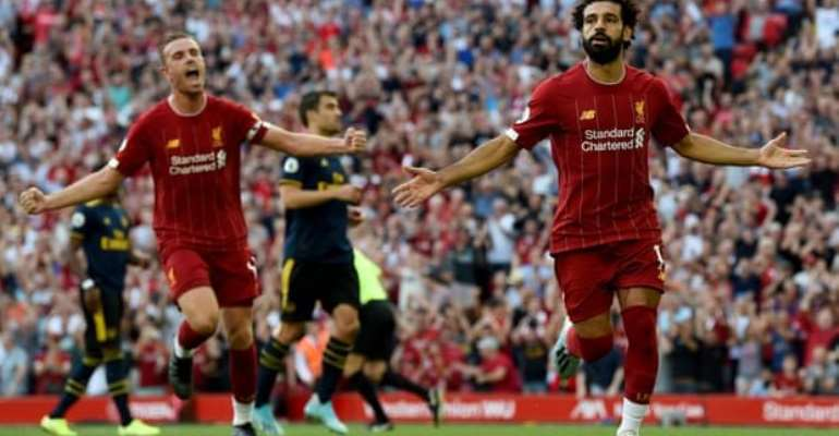 Salah Double Seals Easy Liverpool Win Over Arsenal