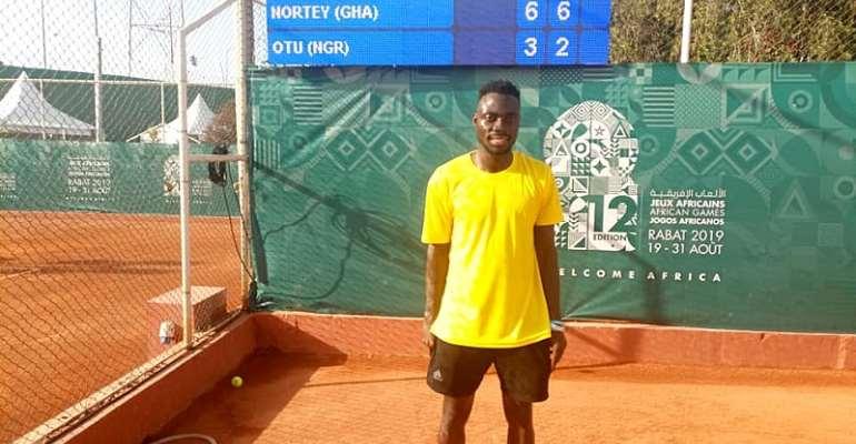 Ghana's Nortey Beats Nigeria's Omang In Tennis