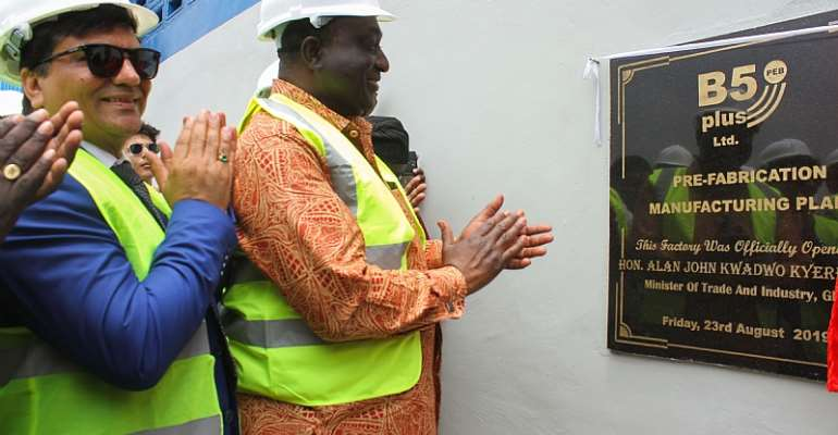 Ghana Unveils West Africa's Largest Steel Factory