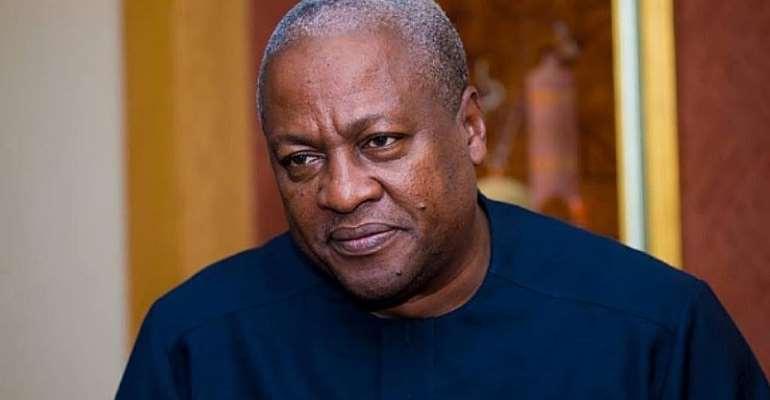 Stop Being Dishonest, Untruthful— Mahama Tells Mahama
