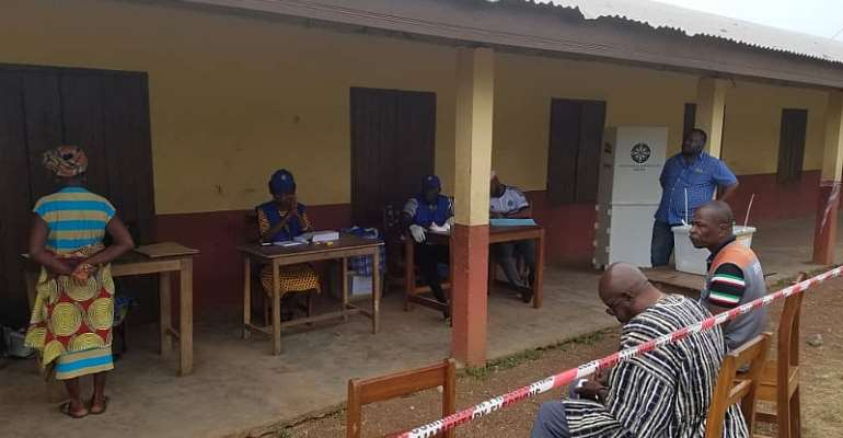 NDC Primaries: Voting Underway Nationwide [Photos]