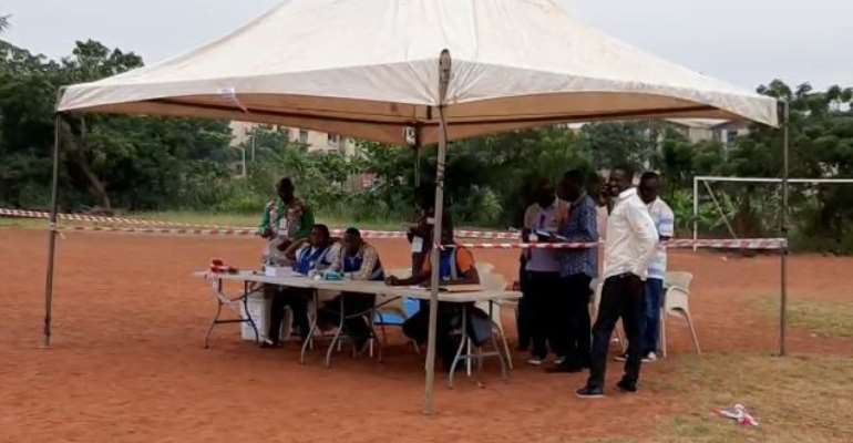 NDC Primaries: Voting Commence Early In Adentan Constituency
