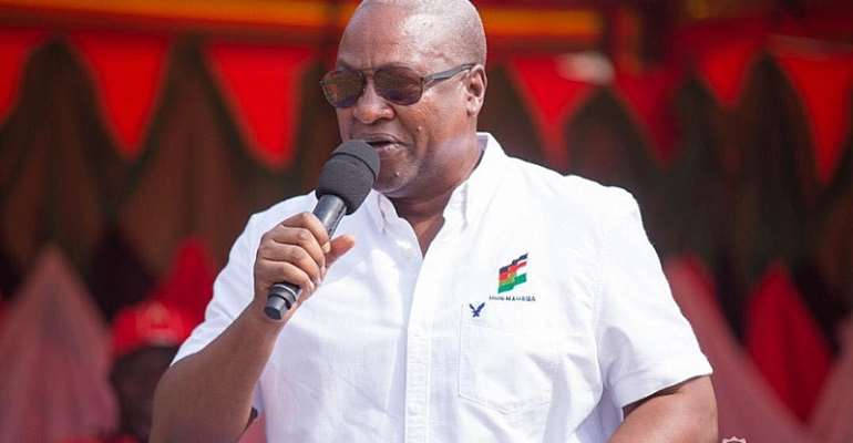 Elect Competent Candidates To Unseat NPP – Mahama To Delegates