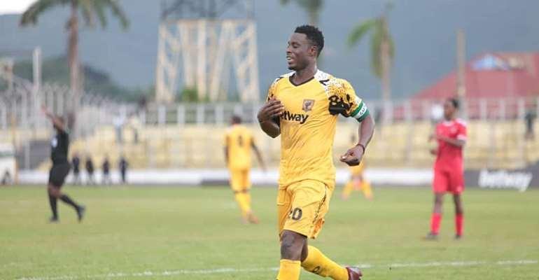 CAF Confederations Cup: Clinical Shafiu Mumuni Bags Hat-Trick As Ashgold Eliminate Akonangui FC