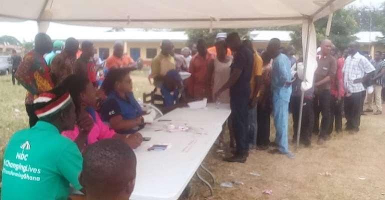 NDC Primaries: 1,500 Delegates Vote In Sunyani East