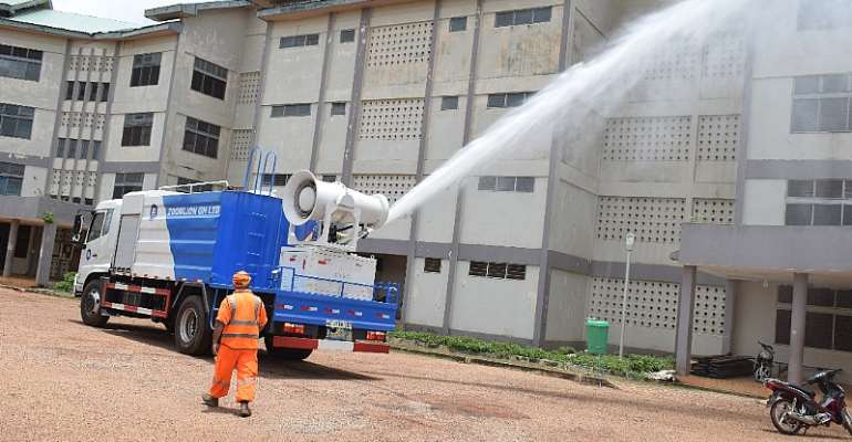More Tertiary Schools Benefit From National Disinfection