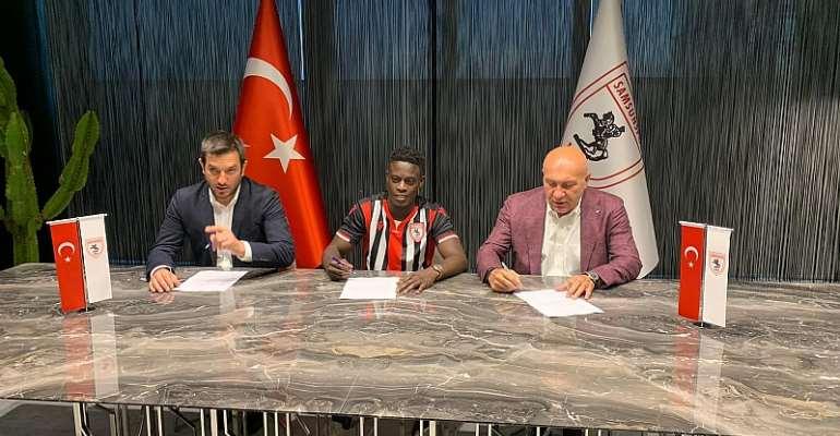 Ghana Star Edwin Gyasi Joins Samsunspor On Three Year Deal
