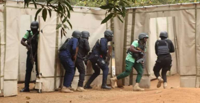 Election 2020: Ghana Trains 276 Security Personnel On Counter Terrorism