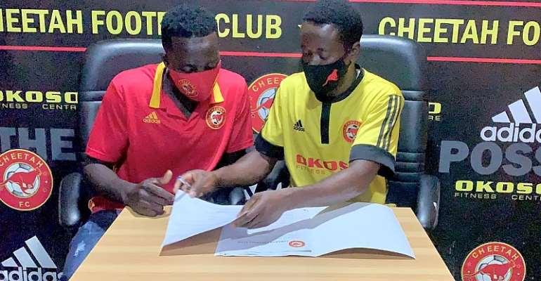 Lower Tier Side Cheetah FC Seal Signing Of Teenager Abdulai Simba