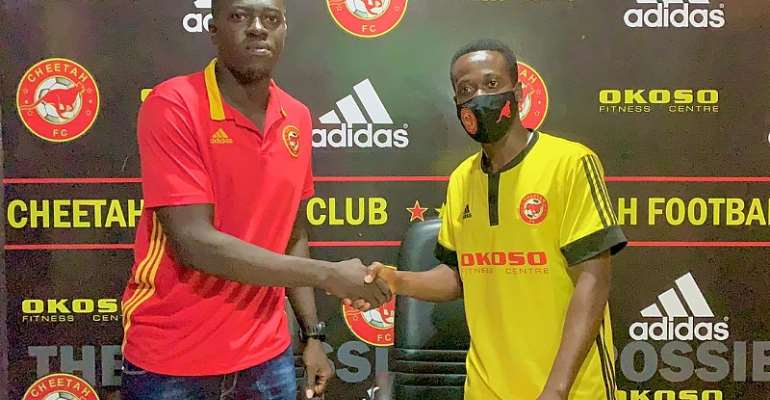 I Joined Cheetah FC Because Of The Opportunities Available For Youngsters – Abdulai Simba
