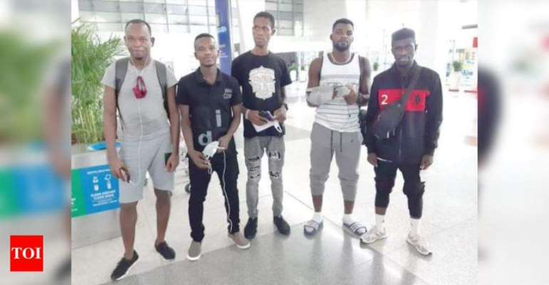 Indian Helps Fly Stranded Ghanaian Footballers Back To Ghana
