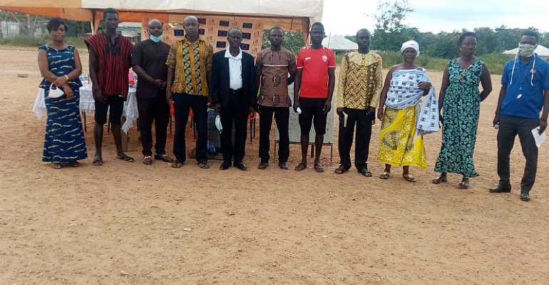 Obuasi: NCCE Inaugurates Social Audit Oversight Committee At Binsere