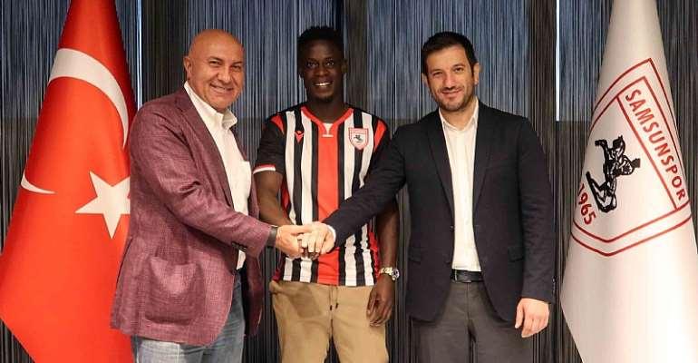 Edwin Gyasi Likely To Make Yılport Samsunspor Debut Against Trabzonspor On Saturday