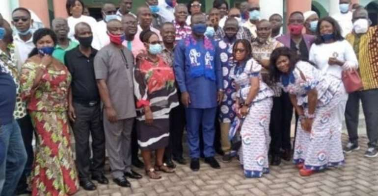 Bibiani NPP Inaugurates Campaign Team For Election 2020