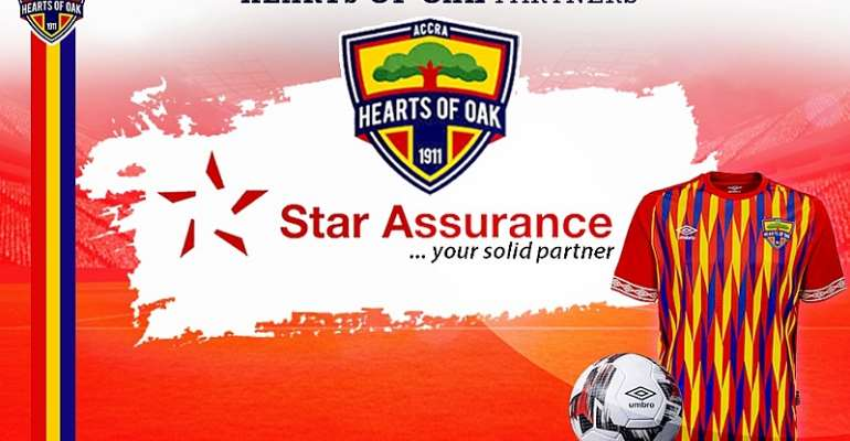 OFFICIAL: Hearts Of Oak Announce Signing Partnership Agreement With Star Assurance