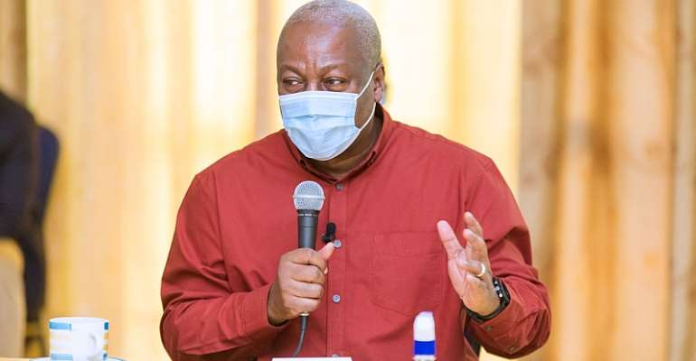 I Will Not Accept Agyapa Deal If I Become President– Mahama