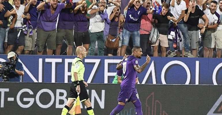 Kevin Prince-Boateng Scores Stunning Goal On His Fiorentina Debut