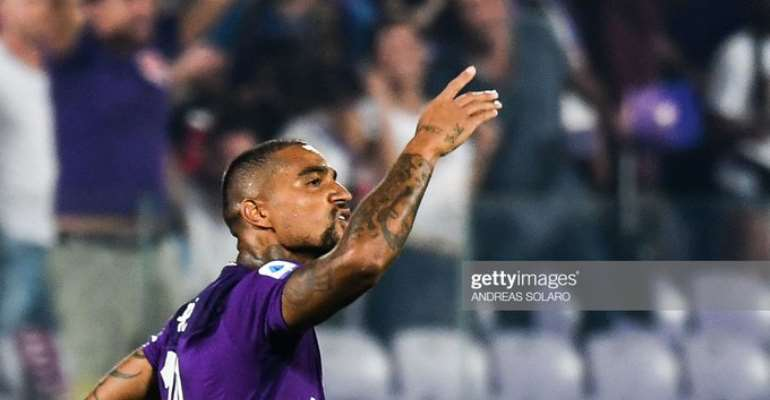 KP Boateng Delighted With His Debut Goal For Fiorentina