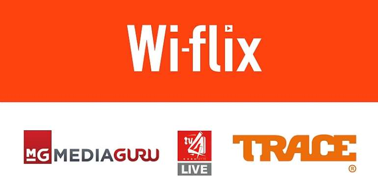 Wi-Flix Announces Partnership With Trace TV, Mediaguru, Rushlake, Forest Media And 4syte TV To Offer Subscribers More Variety