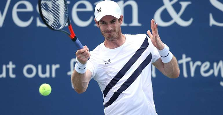 ANDY MURRAY AT THE WESTERN & SOUTHERN OPEN  IMAGE CREDIT: GETTY IMAGES