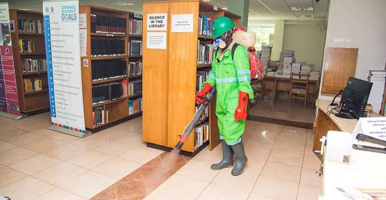 Ashesi University Benefits From 2nd Disinfection