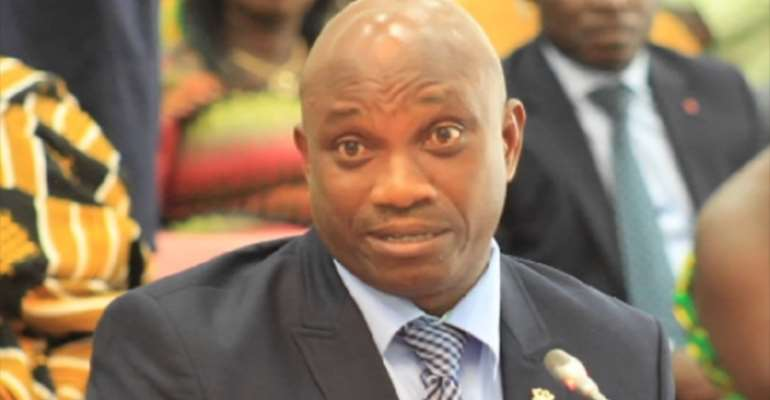 Deputy Minister for Employment and Labour Relations, Mr. Bright Wireko Brobby