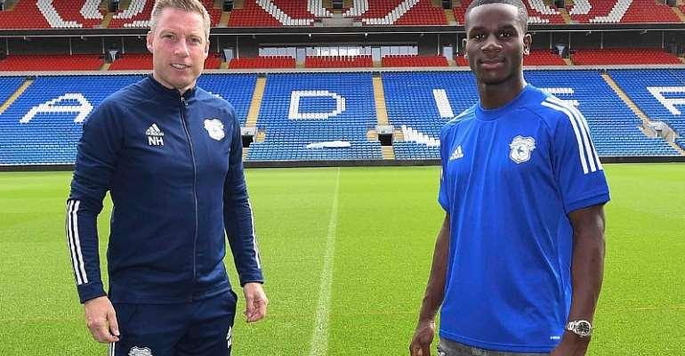 Cardiff City manager Neil Harris [Left], Jordi Osei-Tutu [Right]. Image Credit/Cardiff City