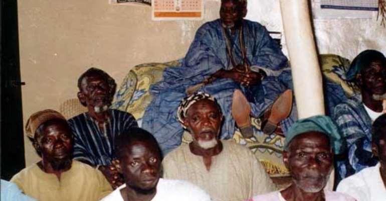 Funeral for Ghana's beheaded king
