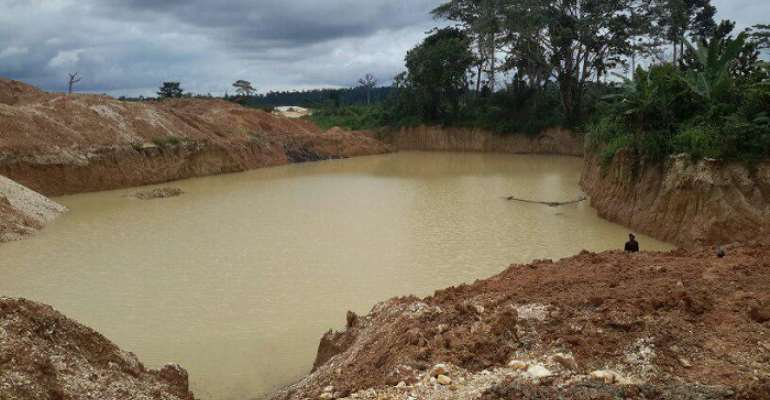 Chinese woman accused of destroying Amansie farmlands with galamsey