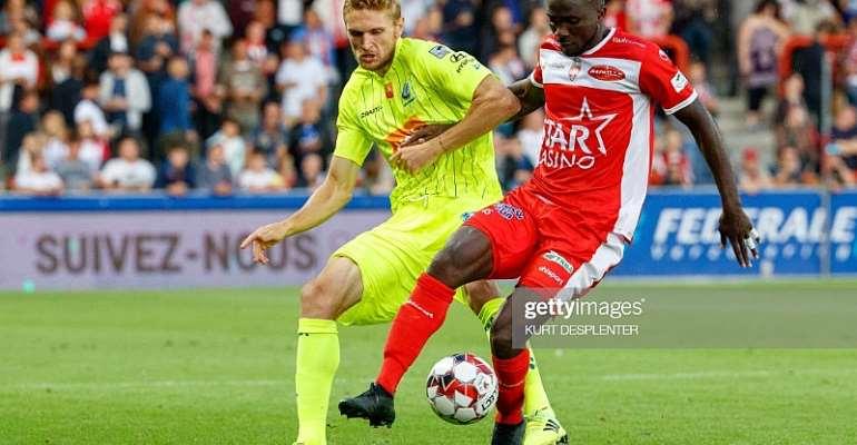 Jonah Osabutey On Target As Royal Excel Defeat KAS Eupen 2-0