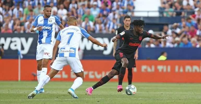 Thomas Partey Elated With Atletico Madrid New Players