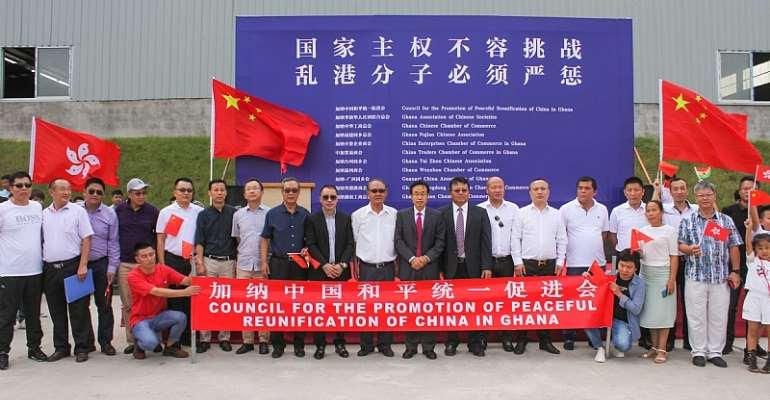 Chinese Community Condemns Hong Kong Violence