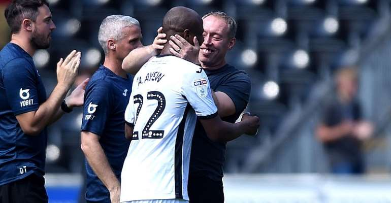 Andre Ayew Is Happy And Motivated At Swansea City Amid Future Uncertainty