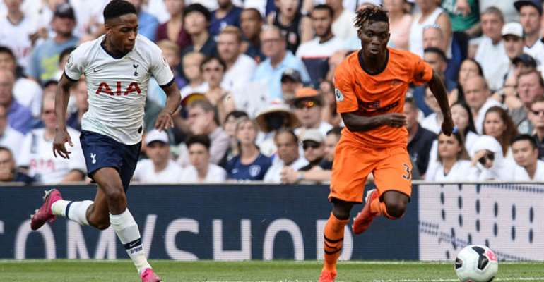 'Christian Atsu Was Superb Against Tottenham Hotspurs' - Newcastle United Fans