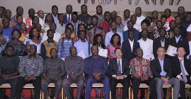310 Ghanaians Grab Chinese Scholarships