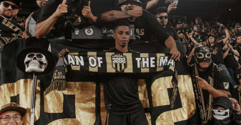 Los Angeles FC Ace Latif Blessing Wins MVP In Six-Goal Thriller Derby Draw With LA Galaxy