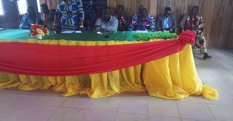 Regional Ministers Pays Working Visit To Wenchi