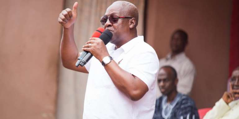'Let's win 2020 for the good of Ghana' – Mahama to NDC