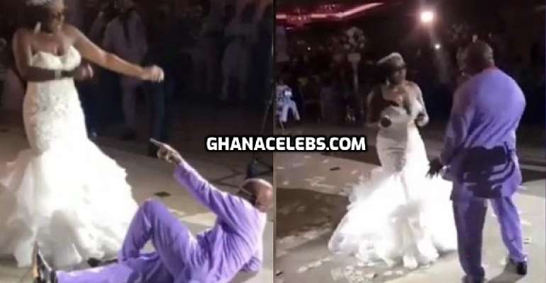 Dad Wins The Heart Of Many With His Dance Moves At His Daughter's Wedding