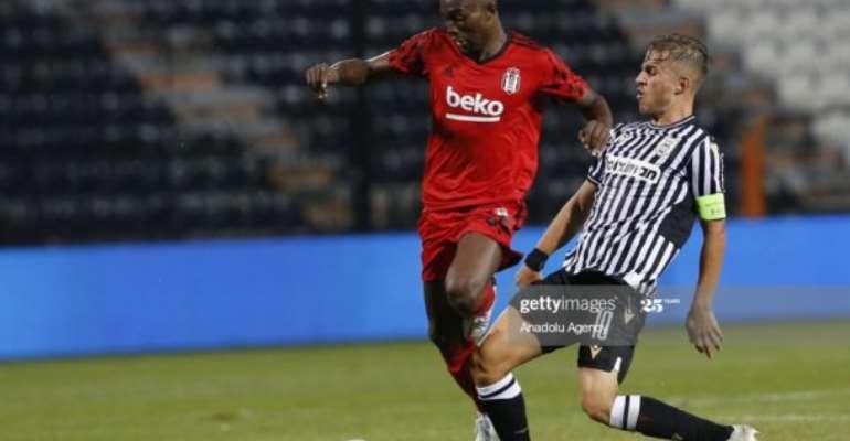 Bernard Mensah's Besiktas Debut Ends In Defeat To PAOK