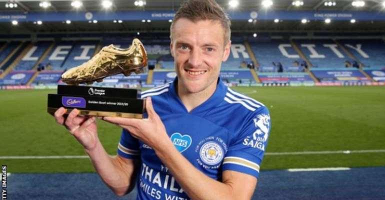 Vardy won the Premier League's Golden Boot last season after scoring 23 goals