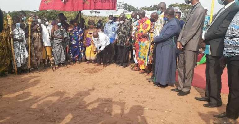Health Minister Cuts Sod For Construction Of 40-Bed Hospital For Okere