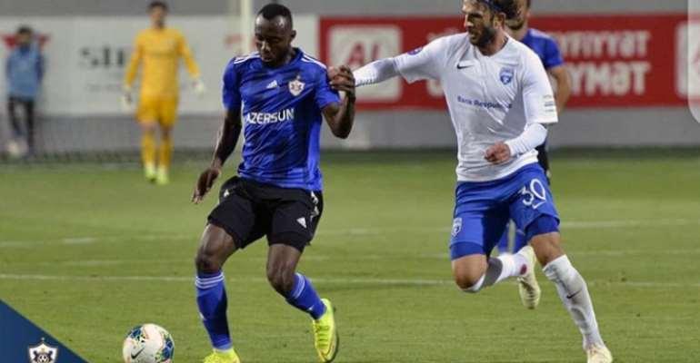 Kwabena Owusu Named In ToTW In Azerbaijan After Impressing For Qarabağ FK