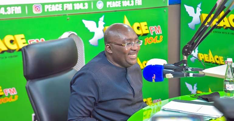 Our delivery tracker website demonstrates transparency and accountability in governance - Bawumia