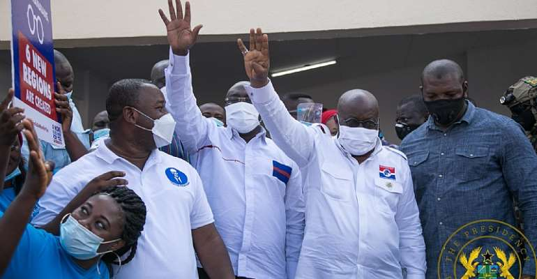 Leadership Of Service And Consolidating Our Gains A Manifesto Of Vision And Hope For Ghana