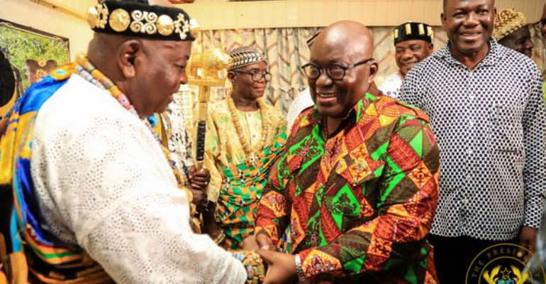FLASHBACK: President Nana Akufo-Addo and Torgbui Sri III
